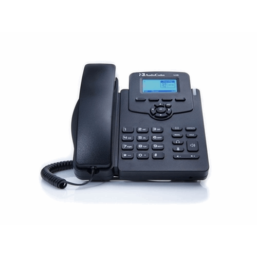 AudioCodes 405 IP-Phone PoE Black for Skype for Business