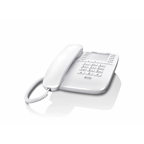 Gigaset DA510 desk phone without display, caller ID and handsfree White