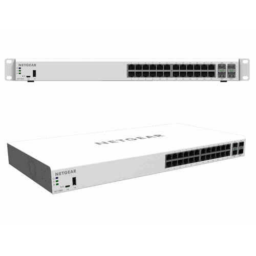 Insight GC728P 24-poorts smart cloud switch PoE+