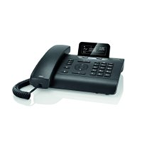 Gigaset DE310 IP Pro, Black VoIP deskphone with display+ powersupply