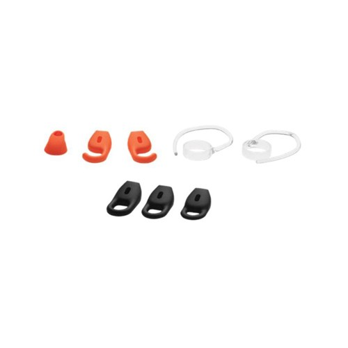Eargel pack for Jabra STEALTH UC with 6 eargels  + 2 earhooks