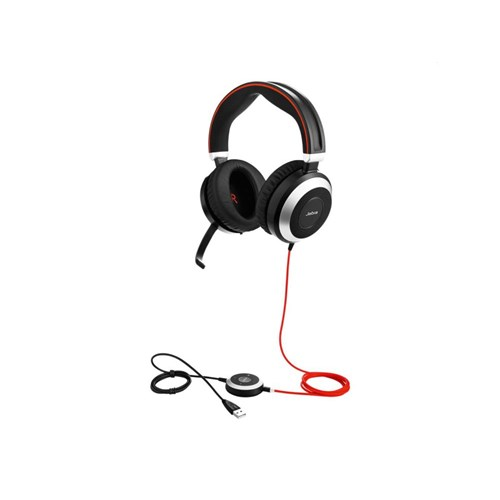Jabra EVOLVE 80 Stereo 3.5mm Jack Headset only